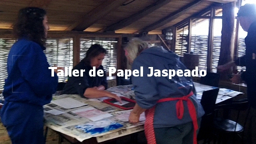 2020 12 19 | taller de papel jaspeado | workshop marbled paper | workshop marmerdrukken